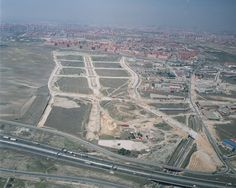 Urban development of 90 hectare in Madrid-Spain. Important structures and measures of urban services: maximum diameter of waste water net of 3 metres; structure over underground line 9; tunnel under M45 motorway.