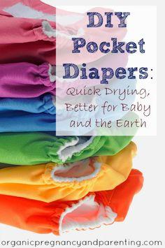 DIY Pocket Diapers