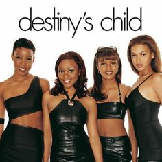 """One of the music industry's most successful group - the original """"Destiny Child"""" - Kelly Rowland LaTavia Roberson LeToya Luckett and Beyonce Knowles Kelly Rowland, Lionel Richie, Michelle Williams, Spice Girls, Original Destiny's Child, Chris Brown, Rap Style, New School Hip Hop, Divas"""