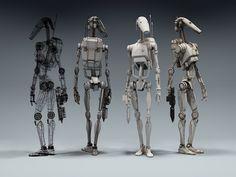 pierrick guenneugues: Star Wars - Battle Droid