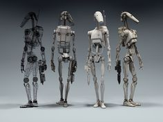 pierrick guenneugues: Star Wars - Battle Droid