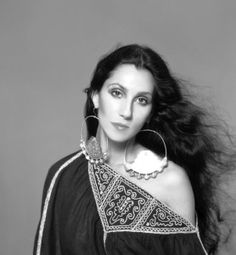 Snaps of Famous Stars in the 1970s - Cher