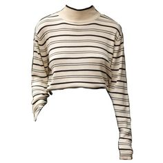 Camera image from paolabw ❤ liked on Polyvore featuring tops, shirts, crop top and sweaters