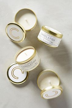 Candlefish Candle Tin - anthropologie.com