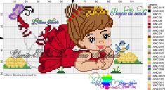 Cross Stitch Designs, Cross Stitch Patterns, Cross Stitch Baby, Crafts For Girls, Baby Kind, Hama Beads, Cross Stitching, Painted Rocks, Free Crochet