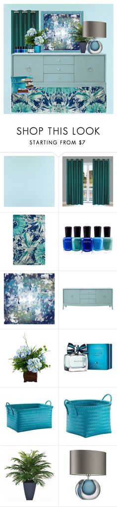"""Untitled #3043"" by nefertiti1373 ❤ liked on Polyvore featuring interior, interiors, interior design, home, home decor, interior decorating, Casadeco, Zoya, PTM Images and Redford House"