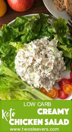 Kelsey Howland saved to Lunch in Keto popular chicken salad recipe. You'll wonder if this will be bland and tasteless with just few ingredients, but I promise you, it won't. Super…More 8 Indulgent Keto Diet Friendly Salad Recipes Ketogenic Recipes, Low Carb Recipes, Diet Recipes, Healthy Recipes, Dessert Recipes, Breakfast Recipes, Diet Breakfast, Sausage Recipes, Lunch Recipes