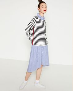 Image 4 of STRIPED SWEATER from Zara