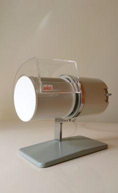 Desk Fan (model HL1) 1961, by Reinhold Weiss for Braun