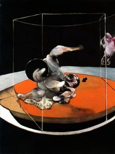 Figures in Movement, 1976. Francis Bacon