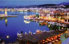 Crete, rethymno. Greece