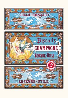 Biscuits Champagne by Alphonse Mucha -#Art Print #AlphonseMucha #ArtandArtists #posters https://postercrazed.com/product/biscuits-champagne-by-alphonse-mucha-art-print/