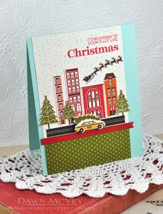 Looking Like Christmas Card by Dawn McVey for Papertrey Ink (October 2013)
