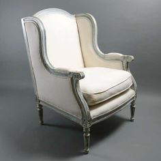A White Painted Bergere  C 1950 France