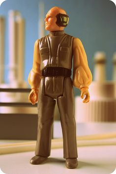"""Lobot, a cyborg from """"Star Wars: The Empire Strikes Back"""""""
