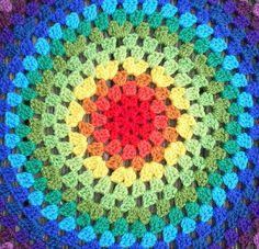 Revisiting the Granny Mandala…. | Crochet with Raymond