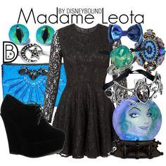 Madame Leota by Disney Bound Disney Themed Outfits, Disney Bound Outfits, Disney Inspired Fashion, Disney Fashion, Disney Dress Up, Disney Clothes, Madame Leota, Character Inspired Outfits, Fandom Outfits