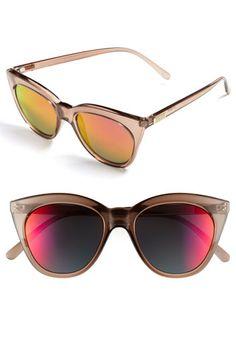 Le Specs 'Halfmoon Magic' Sunglasses available at #Nordstrom