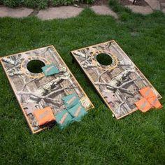 Mossy Oak Tailgate Toss Cornhole Set