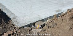 Short depth slabs or shallow foundations are an affordable, convenient option for many property owners. These concrete structures manipulate the weight of a structure for a solid foundation.