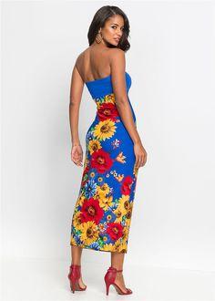 84f176b708 Sukienka Atrakcyjna długa sukienka • 149.99 zł • bonprix