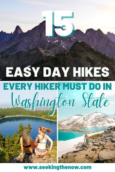 I cannot believe I just found out about these easy trails in Washington! I am so excited to take my friends out and explore these day hikes near Seattle! #dayhikesinWashington… Washington Camping, Washington State, Adventure Photography, Travel Photography, Adventure Aesthetic, Wanderlust, Adventure Travel, Adventure Quotes, Found Out