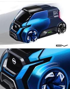 The small commercial vehicle by Nissan. #vision #sketch #doodle #peugeot #people #art #drawing #3d #instagram #world #mercedes #speed #cardesigndaily #cardesign #photo #like4like #trash #nissan #japan #russia #chepushtanovv #concept #automotive #design #color #pen #photoshop #vray #autodesk #render  © Vladimir Chepushtanov | Russia   links:   https://www.behance.net/chepushtanovv   http://chepushtanovv.blogspot.ru/  https://www.instagram.com/chepushtanov_v/