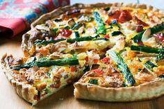 Our Provençal Quiche recipe is a homemade quiche with a tender cream cheese…