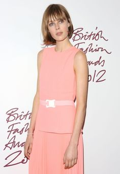 British Fashion Model Edie Campell attends the British Fashion Awards 2012 at the Savoy Hotel on November 27th 2012 in London