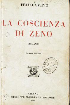 """Svevo's first book, """"The Confessions of Zeno,"""""""