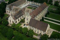 ✈️ Photo aérienne de Abbaye de Royaumont - Val-d'Oise (95)