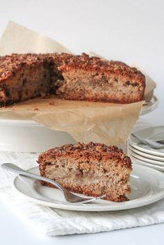 Appel-kaneelcake met walnoten van Mary Berry ( of gebruik andere noten bv hazelnoten) Mary Berry, Sugar Rush, Cake Cookies, My Recipes, Food Inspiration, Banana Bread, Bakery, Sweets, Desserts