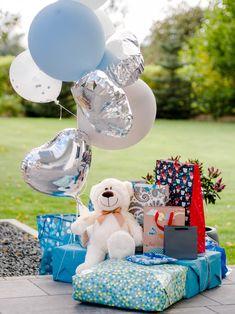 Baby Shower – garden party w klimacie boho Baby Blue, Babyshower, Baby Shower Gifts, Children, Party, Ideas, Design, Fotografia, Young Children