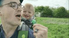 This Adorable Baby Has The Best Reaction To Seeing A Dandelion For The First Time