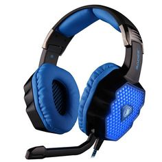 US 43.99  SADES A70 USB 7.1 Surround Sound Stereo Breathing Light Gaming  Headphones with 01fbc0298c98