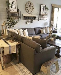Nice 65 Best Farmhouse Living Room Design Ideas https://homeastern.com/2018/02/01/65-best-farmhouse-living-room-design-ideas/