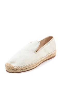 Shop now: Elyse Walker Dee Pony Hair Espadrilles