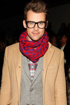 Stylist Brad Goreski attends Christian Siriano Fall 2012 fashion show during Mercedes-Benz Fashion Week at The Studio at Lincoln Center on February 11, 2012 in New York City.