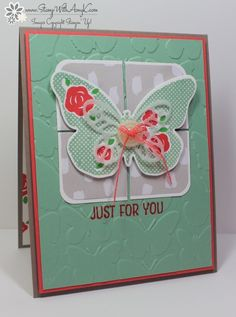 Stampin' Up! Floral Wings Simple Butterfly | Stamp With Amy K