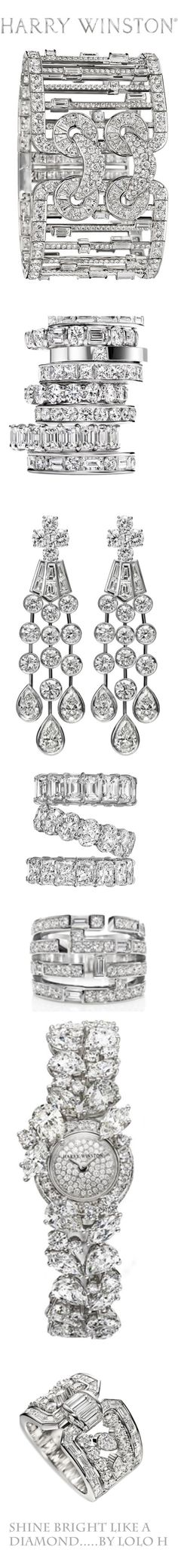 Jewels: shining bright like a diamond. Harry Winston diamonds of course!..