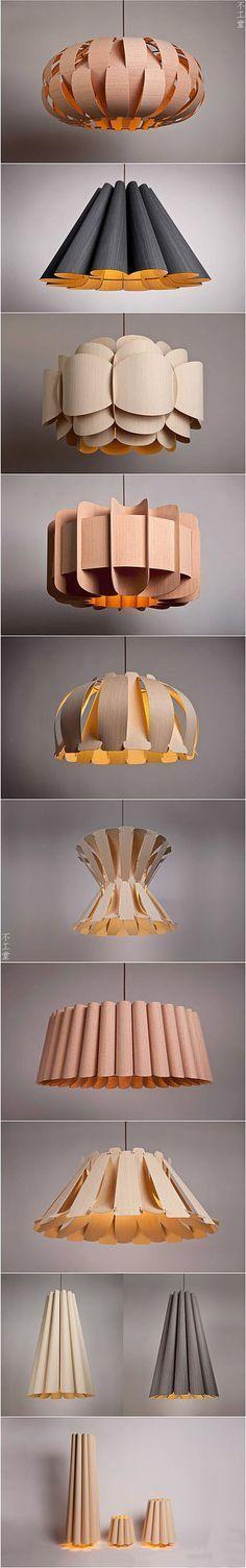 Lindas luminárias ! Design super criativo!