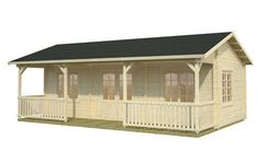 Sandra 25.6 11.1sqm log cabin, garden office, Log Cabins for sale, Free Delivery