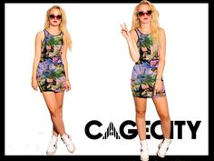 CAGECITYmeets FASHION RUSH. Check out her her exclusive interview https://www.dresscagecity.com/blog/274/cagecity-meets-fashionrushhh/