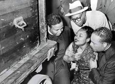 "It was Mamie Till, Emett Till's mother years ago who made this profound statement: ""Two months ago I had a nice apartment in Chicago. I had a good job. I had a son. When something happened to the Negroes in the South I said, 'That's their business, not mine.' Now I know how wrong I was. The murder of my son has shown me that what happens to any of us, anywhere in the world, had better be the business of us all!"""