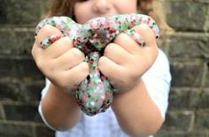 An easy Christmas slime recipe that makes a great kids' gift idea! Perfect if you're looking for an easy craft project for the kids over winter break. The kids and I love making slime. We use this glitter slime recipe, whip up a batch, and it entertains them for days. I like that the ingredientsRead More