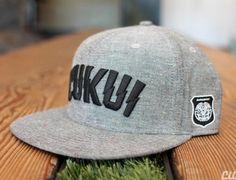 3a24a7a44062a Lightning Grey Black Snapback Cap by CUKUI – Oh Snapbacks