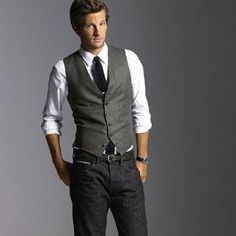 vest and jeans - Google Search
