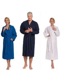 Wafel badjas kimono kopen. Een badjas voor hem & haar.