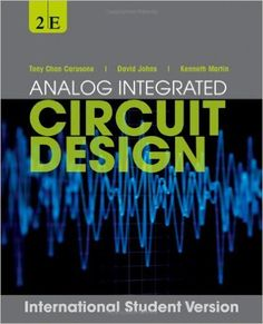 Analog integrated circuit design / Carusone, Tony Chan. 2013