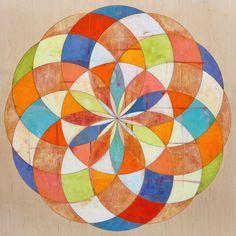 Art portfolio of James Wyper, abstract painter. Geometry Art, Sacred Geometry, Mandala Drawing, Mandala Art, Abstract Painters, Abstract Art, Art Assignments, Polygon Art, Zen